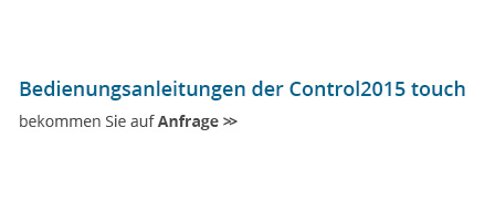 RUMED Anfrage Control2015 touch