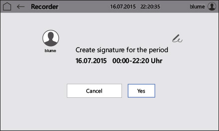 Control2015 touch Digital signature