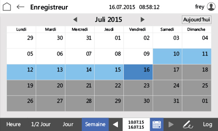 Control2015 touch Kalender