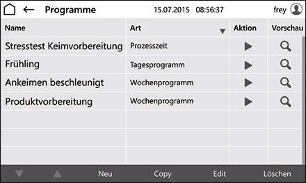 Control2015 touch Programmregelung ist Standard