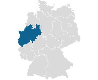 RUMED Karte NRW