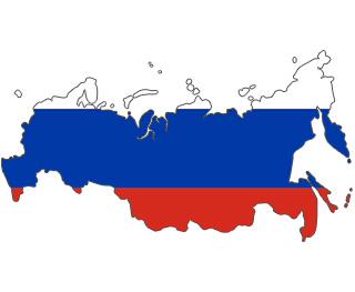 PLZ Karte Russland